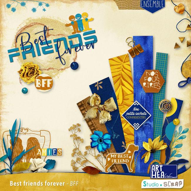 Kit « Best Friends Forever » en téléchargement