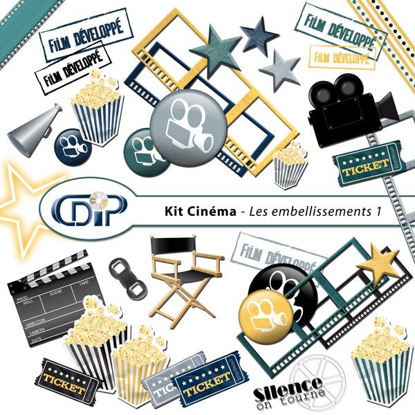 Kit « Cinéma » - 02- Les embellissements 1