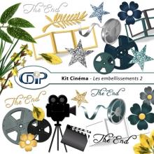 Kit « Cinéma » - 03- Les embellissements 2