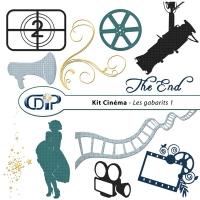 Kit « Cinéma » - 05 - Les gabarits 1