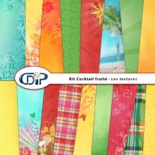 Kit « Cocktail fruité » - 01 - Les textures