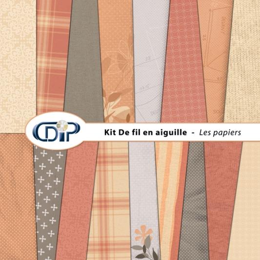 Kit « De fil en aiguille » - 01 - Les textures