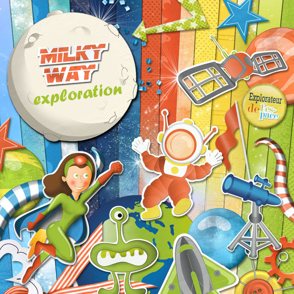 """Milky Way Exploration"" digital kit - 00 - Presentation"