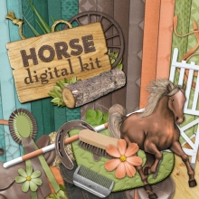 """Horse"" digital kit - 00 - Presentation"