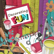 """Decorating fun"" digital kit - 00 - Presentation"