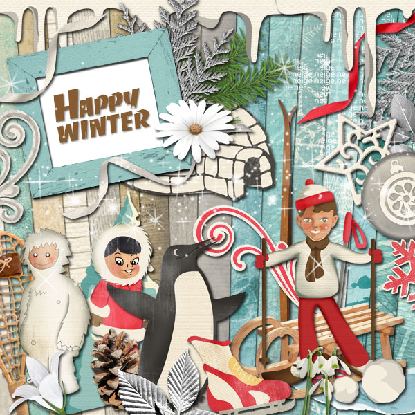Kit « Happy Winter» - 00 - Présentation
