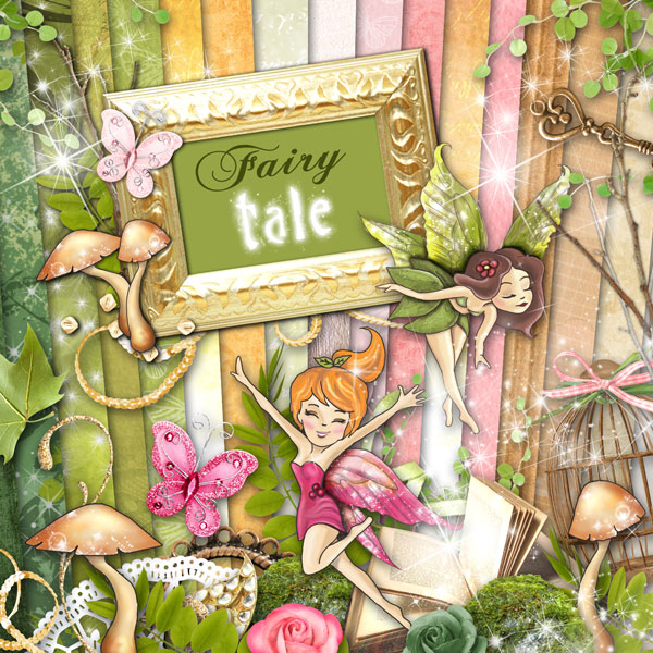 Fairy tale digital kit