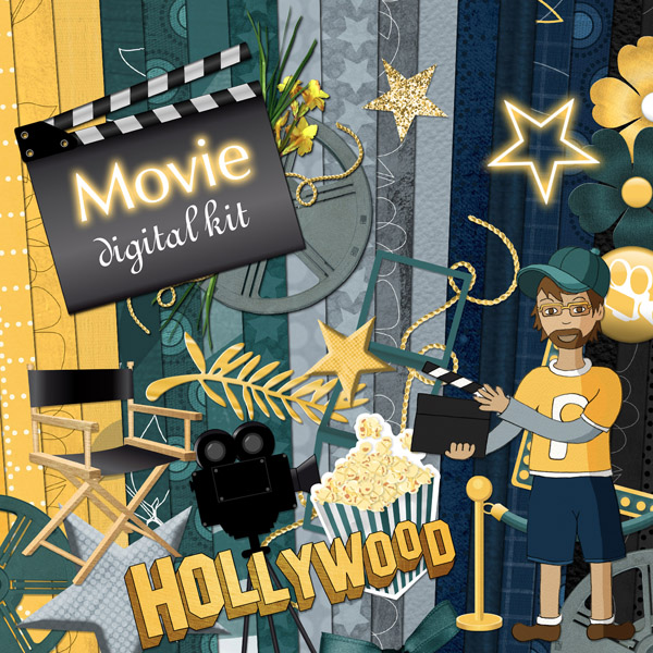 « Movie » digital kit - 00 - Presentation