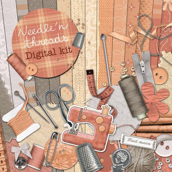« needle'n threads » digital kit - 00 - Presentation