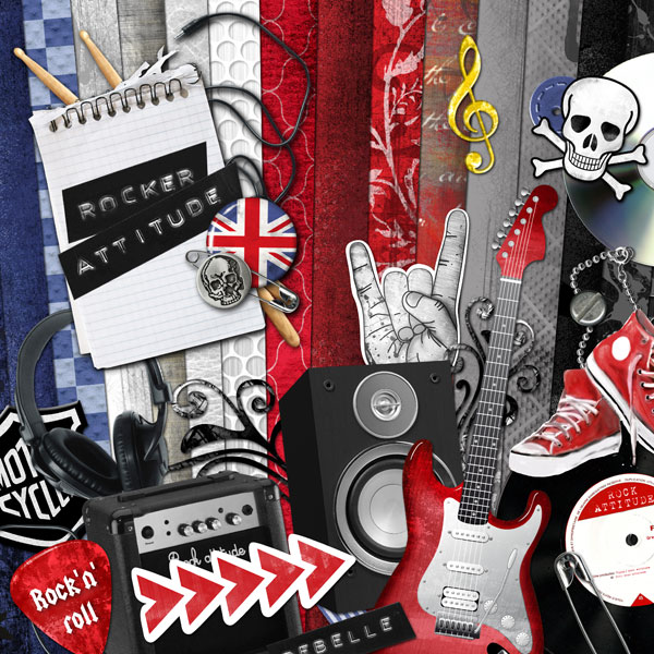 """""""Rocker attitude"""" digital kit - 00 - Presentation"""