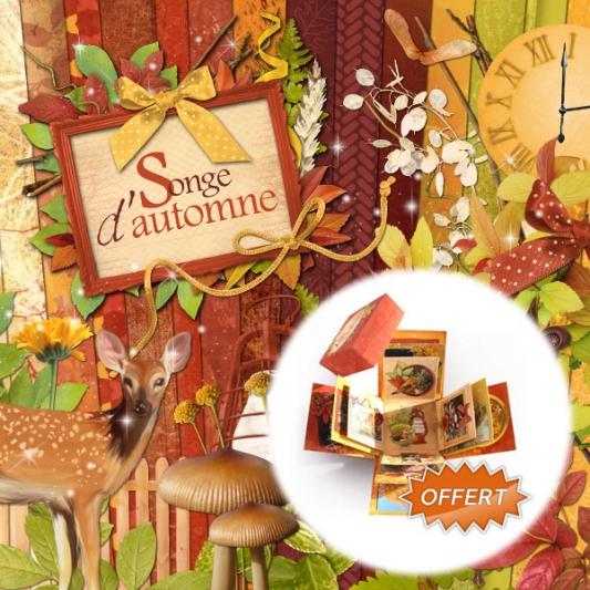 Kit « Songe d automne » - 00 - Présentation - mini offert