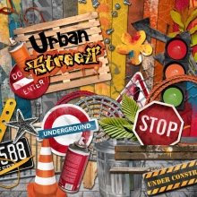 """Urban Street"" digital kit - 00 - Presentation"