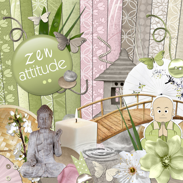 « Zen attitude » digital kit - 00 - Presentation