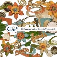 Kit « Doux souvenirs » - 03 - Les embellissements 2