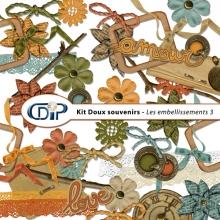Kit « Doux souvenirs » - 04 - Les embellissements 3