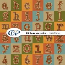 Kit « Doux souvenirs » - 07 - Les lettrines