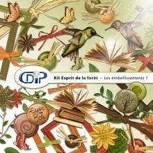 Kit « Esprit de la forêt » - 02 - Les embellissements 1