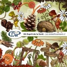Kit « Esprit de la forêt » - 03 - Les embellissements 2