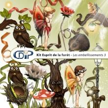 Kit « Esprit de la forêt » - 04 - Les embellissements 3