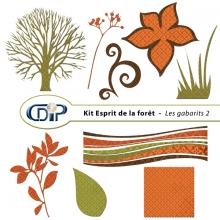 Kit « Esprit de la forêt » - 06 - Les gabarits 2