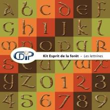 Kit « Esprit de la forêt » - 07 - Les lettrines