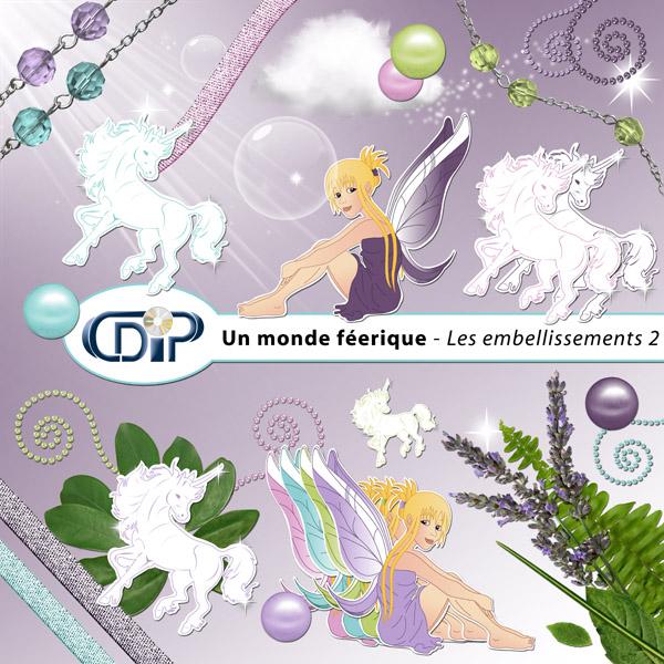 Kit « Un monde féerique » - 03 - Les embellissements 2