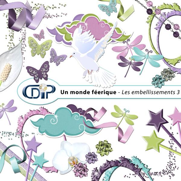 Kit « Un monde féerique » - 04 - Les embellissements 3
