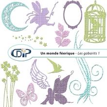 Kit « Un monde féerique » - 05 - Les gabarits 1