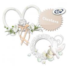 Kit « Fleur de coton » - 08 - US - Les clusters