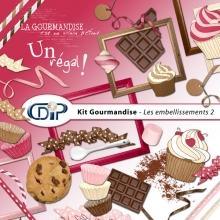 Kit « Gourmandise » - 03 - Les embellissements 2