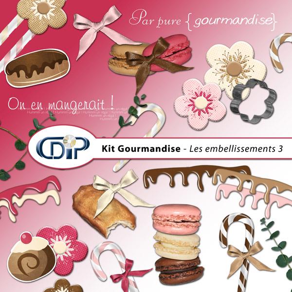 Kit « Gourmandise » - 04 - Les embellissements 3