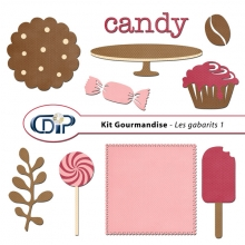 Kit « Gourmandise » - 05 - Les gabarits 1
