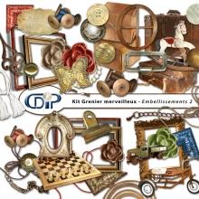Kit « Grenier merveilleux » - 03 - Les embellissements 2