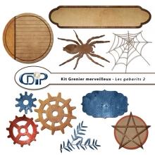 Kit « Grenier merveilleux » - 07 - Les gabarits 2