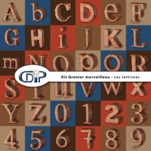 Kit « Grenier merveilleux » - 08 - Les lettrines