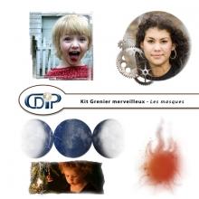 Kit « Grenier merveilleux » - 10 - Masques
