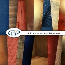 Kit « Grenier merveilleux » - 01 - Les textures