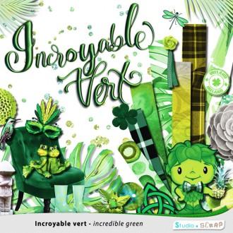 Kit « Incroyable vert » en téléchargement