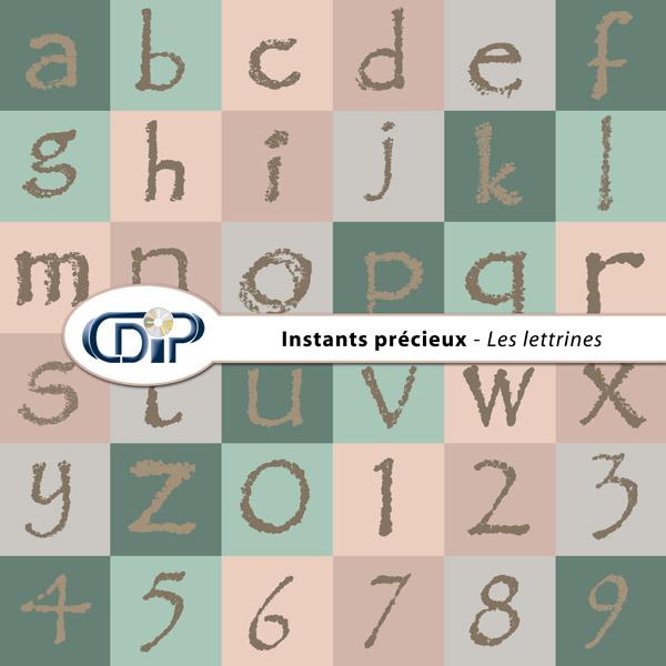 Kit « Instants précieux » - 07 - Les lettrines