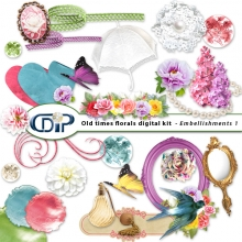 Digital kit embellishments