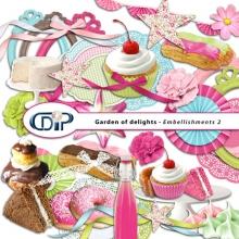 Kit « Jardin des delices » - 03 - US - Les embellissements 2