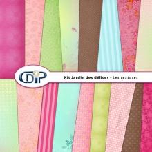 Kit « Jardin des delices » - 01 - Les textures