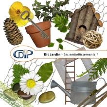 Kit « Jardin »   - 02 - Les embellissements 1