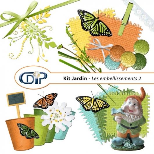 Kit « Jardin »   - 03 - Les embellissements 2