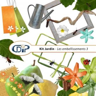 Kit « Jardin »   - 04 - Les embellissements 3