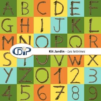 Kit « Jardin »   - 07 - Les lettrines