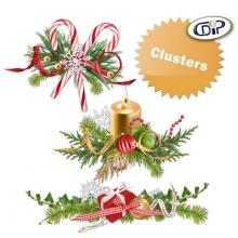 Kit « Joyeux noel » - 10 - US - Les clusters