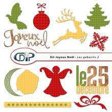 Kit « Joyeux noel » - 07 - Les gabarits 2