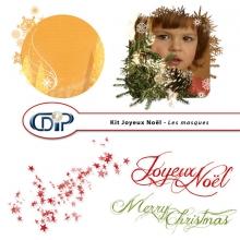 Kit « Joyeux noel » - 08 - Masques