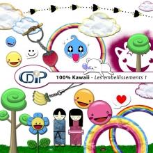 Kit « Kawaii » - 02 - Les embellissements 1